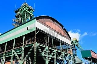 Industrie-Denkmal Zeche Westfalen Ahlen Deutschland