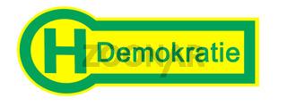 Haltestelle Demokratie