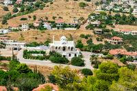Church in a Greek village.