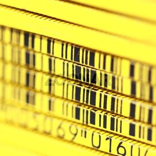 Barcode Zollstock