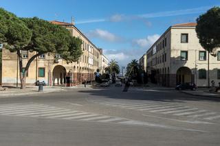 Arkaden in Fertilia, Sardinien