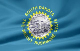 Flagge von South Dakota - USA