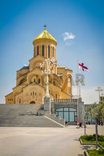 Large church in Tbilisi