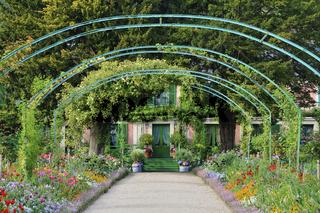Monets Garten, Giverny, Normandie, France