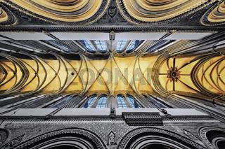 Kathedrale Notre-Dame de Bayeux, Normandie, Frankreich