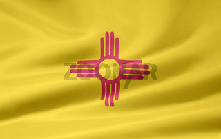 Flagge von New Mexico - USA