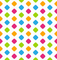 Seamless Geometric Pattern, Colorful Kid Pattern
