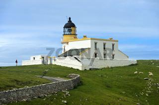 Stoer Leuchtturm, Lochinver, Sutherland, Schottland, Grossbritannien