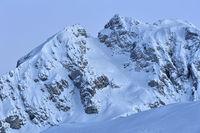 Winter at Passo di Giau