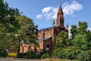 Die Spandauer Kirche St. Marien am Behnitz