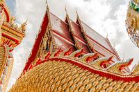 Buddhistischer Tempel Dach
