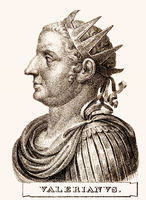 Valerian or Valerian the Elder, Roman Emperor from 253 to 260