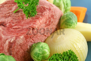 Beef Brisket And Vegetables