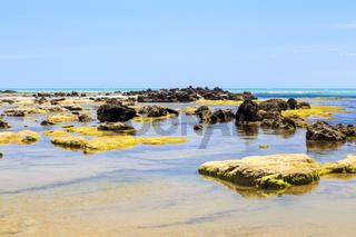 Mittelmeerküste in Italien, coast of mediterranean sea in Italy