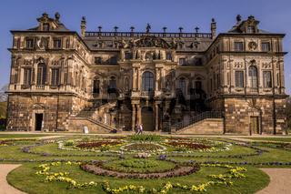 Baroque Palais in Great Garden, Dresden
