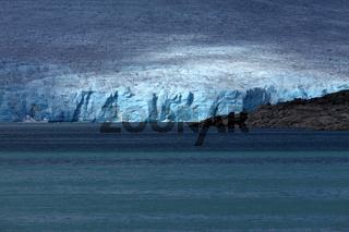 Blick vom Styggevatnet auf den Austdalsbreen