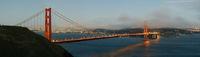 Dämmerung bei der Golden Gate - Sunset at Golden G