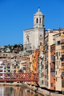 City of Girona in Spain