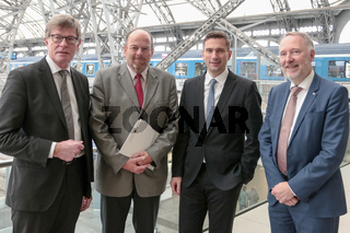 Pressekonferenz Neubaustrecke Dresden - Prag