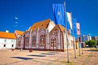 Baroque architecture of Cakovec main square