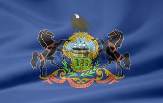 Flagge von Pennsylvania - USA