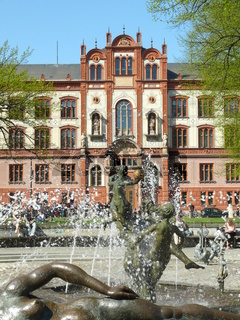 Brunnen der Lebensfreude in Rostock