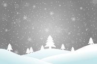 Winterlandschaft silber