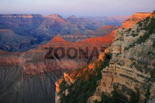 Sunset at Grand Canyon, Arizona