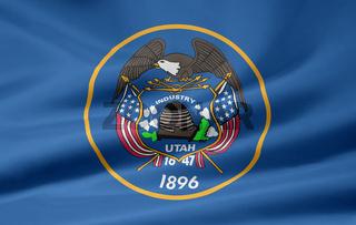 Flagge von Utah - USA