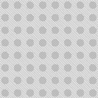 Grey diagonal stripes and circles pattern