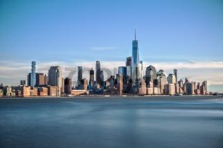 Downtown Manhattan Long Exposure