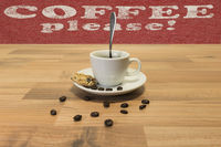 Kaffee bitte