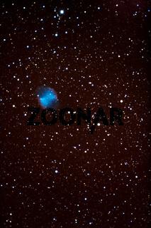 Hantel Nebel - M 27 - dumbbell nebula