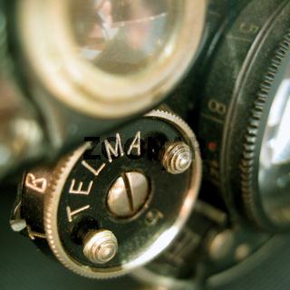 Kamera Einstellrad antik