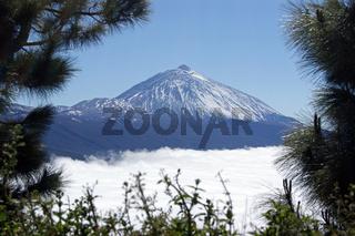 Vulkan auf Teneriffa