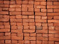 New bricks are stacked