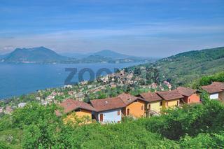 Kurort Stresa am Lago Maggiore,Piemont,Italien