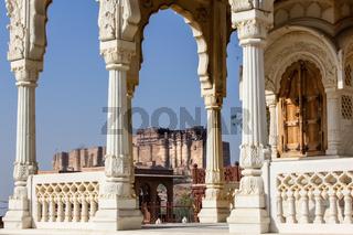 Mehrangarh Fort, Jodhpur, Indien