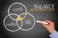 Work, Health and Life Balance Concept - Work-Life Balance