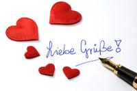 Liebe Grüße