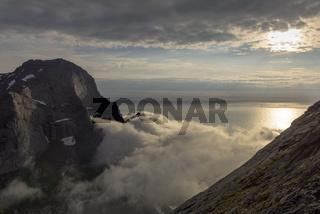 Abendstimmung am Atlantik, Moskenesoeya, Lofoten