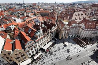 Prag, Altstädter Ring, Stadtansicht