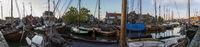 Panorama Harbor Bunschoten Spakenburg