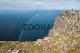 North Cape in Mageroya island, Norway