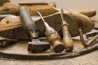 Schuhmacher Werkzeug work tool