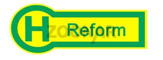 Haltestelle Reform