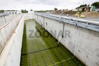 Wastewater treatment facility Water tank