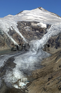 Gletscher Pasterze, Hohe Tauern, Österreich, Europa