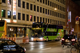 Flixbus in Nürnberg