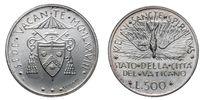 Papal Vacant see 1978 silver coin uncircoled